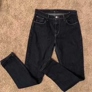 Like New Levi's Hi Rise Skinny Jeans